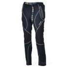 Outto Outdoor Sports Waterproof Polyester Ninth Pants for Men - Grey + Black (M)