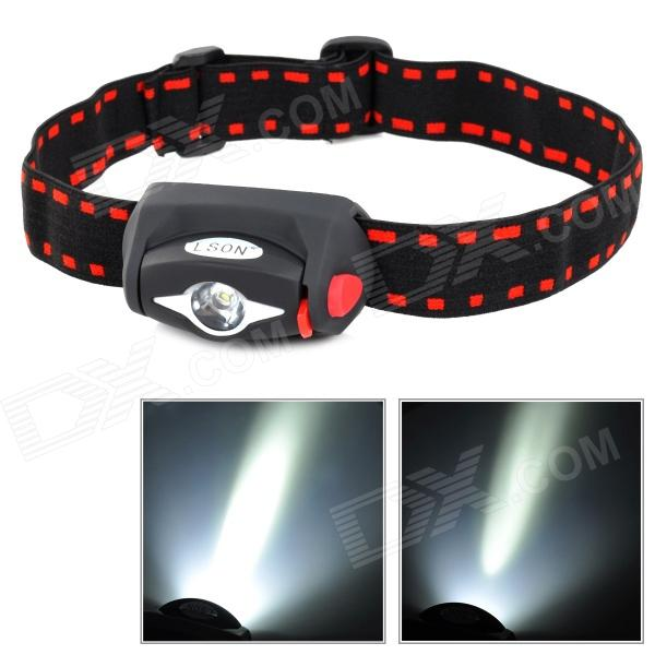 LSON M-519 60lm 3-Mode LED White LIght Headlamp (3 x AAA)