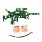 Children's Toy Crossbow with Infrared - White + Army Green
