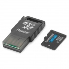 SAMSUNG Classe 10 Micro SD TF + Card Reader Set - Black (32GB)
