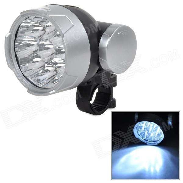 UltraFire MY-07 3W 30lm 9-LED 2-Mode White Light Bicycle Lamp (3 x AA)