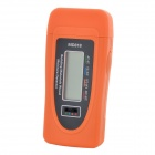 MD818 Mini Digital Wood Moisture Meter - Orange