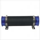 Universal Flexible Cold Air Intake kit - Black + Blue