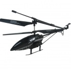 C130831018 3.5-CH 2.4Ghz Radio Control Helicopter with Gyro & Camera - Black