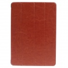 Stylish Ultra Thin Protective PU Leather Case Cover Stand w/ Auto Sleep for Ipad AIR - Brown