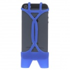 Stylish Lovely Bikini Style Protective Silicone Cover Protector for Iphone 5 - Blue
