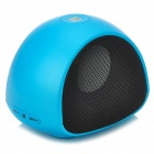 AT-BK702 stilvollen Bluetooth V2.1 Lautsprecher w / Mikrofon / TF / Anruf - Light Blue