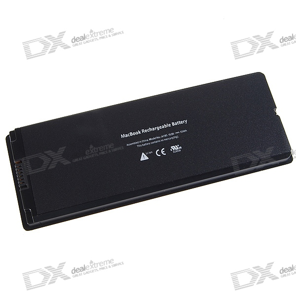 "Apple A1185 Compatible 5000mAh Lithium Battery Pack for Apple 13.3"" MacBook"