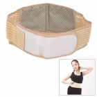 Ms tomalin Magnetic Therapy Self-Heating Waist Massage Belt - Flesh + White + Multi-Colored