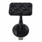 IMOLINT CS017 360 Degree Rotatable Multifunction Desktop Suction Cup Holder for Cell Phone - Black