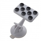 IMOLINT CS017 360 Degree Rotatable Multifunction Desktop Suction Cup Holder for Cell Phone - White