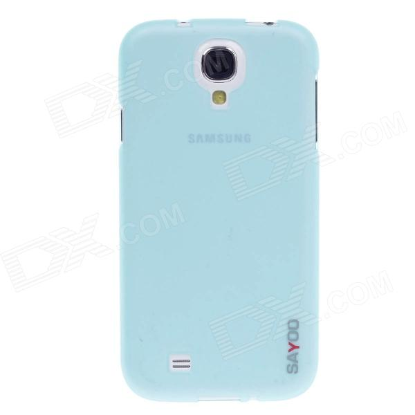 SAYOO 2340 Tiger Wings Series Protective TPU Back Case for Samsung Galaxy S4 i9500 - Blue