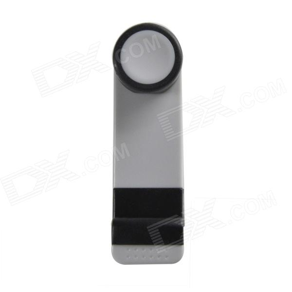 IMOLINT CS016 Retractable Car Mount Holder for Iphone 4 / 5 / Samsung Note 2 / Note 3 N9000 - White