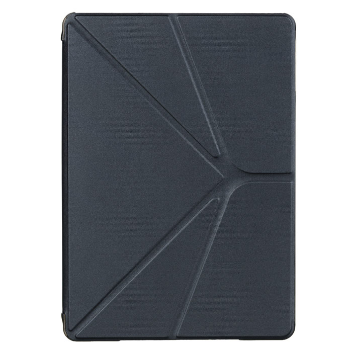 Protective PU Leather Case Stand w/ Auto Sleep Cover for Ipad AIR - Black