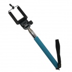 Aluminum Alloy Monopod w/ TrIpod Mount Adapter for GoPro 3+ Camera Iphone Cellphone - Lake Blue