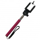 Aluminum Alloy Monopod w/ Tripod Mount Adapter for GoPro 3+ / SJ4000 / Digital Camera IPHONE -Pink