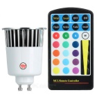 16-Color Remote Controlled LED Light Bulb with Multiple Effects (Spotlight Socket)