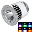 16-Color Remote Controlled LED Light Bulb - White