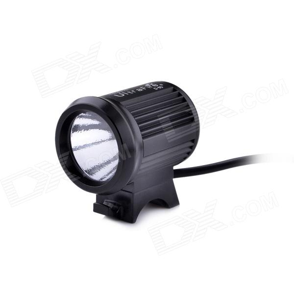 UltraFire D-60 LED 3-Mode 800lm White Bike Light - Black (4 x 18650)