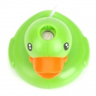 Powered USB Mini humidificador Estilo Pato - Naranja + Verde