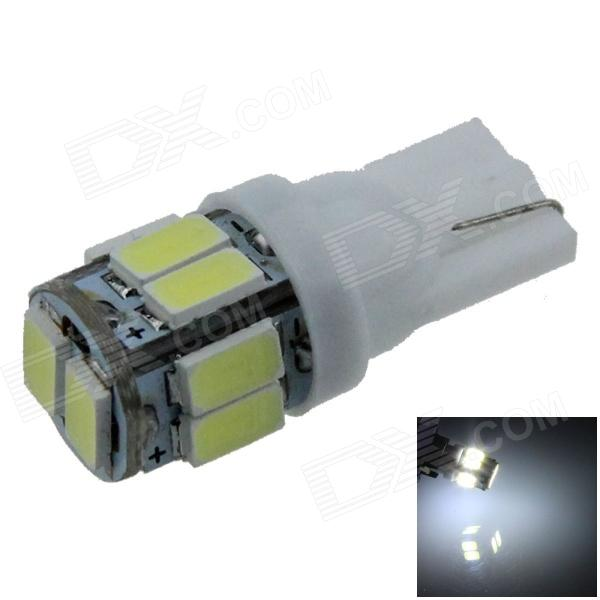 T10 / 194 / 168 / W5W 1W 80lm 10 x SMD 5630 LED White Car Clearance lamp / Side Light - (12V) 2 pieces led car dc 12v lampada light t10 w5w 194 168 super white 194 168 w5w t10 led parking bulb auto wedge clearance lamp