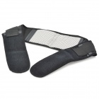 Ms tomalin Magnetic Therapy Self-Heating Waist Massage Belt - Black