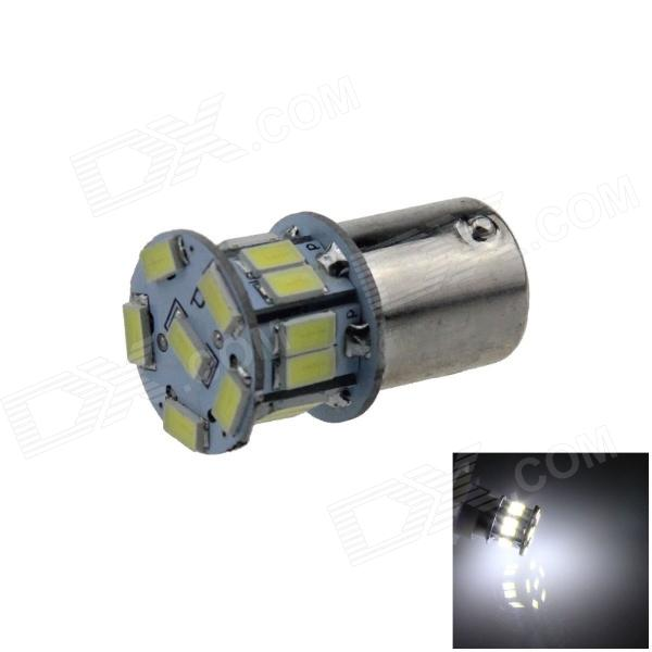1156 / BA15S / P21W 1.6W 140lm 18 x SMD 5630 LED Cool White Car Signal Light / Tail Lamp - (12V)