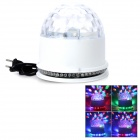 DR-XL-18-3-LED 15W + 48-LED-RGB Magic Ball-Laser-Projektor-Lampe - Weiß (AC 90 ~ 240V)