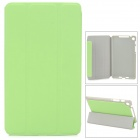 Stylish Protective PU Leather Case for Google Nexus 7 - Green