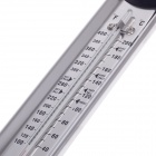 Stainless Steel Candy / Jelly / Deep Fry Thermometer - Silver + Black