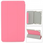 Protective PU Leather Case for Google Nexus 7 - Deep Pink