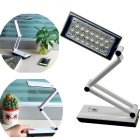 YAGE YG3979 Touch Control 360 Degree Rotation 1.5W 22-LED Folding Rechargeable Desk Light (US Plug)