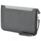 Convenient Protective PU Leather Handbag Case w/ Holder for Retina Ipad MINI / Ipad MINI - Black