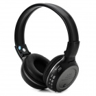ZEALOT Stereo Bluetooth v2.1 + EDR Headphones w/ TF / FM / Microphone - Black + Deep Grey