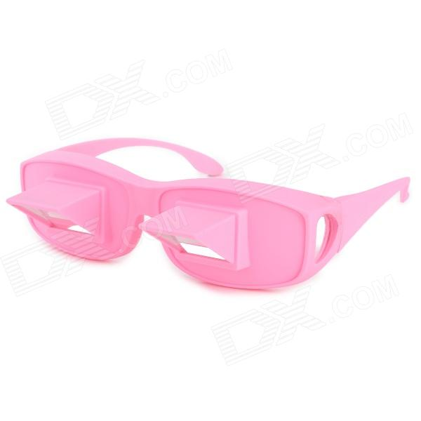 High Definition Horizontal Lazy Glasses Bed Spectacle - Pink