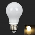 ZDM QE2754095WW04L E27 4W 260lm 3300K 8- 5730 LED Warm White Light Bulb - White (200~240V)