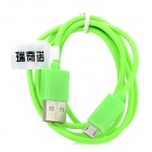 RIchino RS-M01 USB to Micro USB Data/Charging Cable for Nokia / Samsung / HTC / Motorola - Green