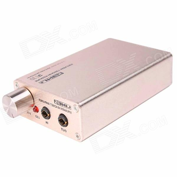 LINE5 A970 Portable Headphone Stereo Audio Amplifier - Champagne Gold
