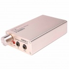 A970 Portable Headphone Earphone Stereo Audio Amplifier - Champagne