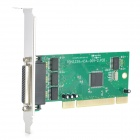 IOCREST MM-IOC845-PR4S PCI to 4-port Serial Controller Card w/ 845 Chip - Green