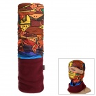 SAHOO Fleece Bandana Kerchief Head Scarf - Multicolor