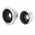 Universal Magnetic Wide Angle + Fish Eye + Macro Lens Set for Iphone Samsung Sony