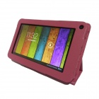 "Artchros ALW720 7"" Dual Core Android 4.2.2 Tablet PC w/ 512MB RAM, 8GB ROM + PU leather Case - Pink"