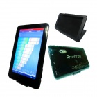 "Artchros ALW720 7"" Dual Core Android 4.2.2 Tablet PC w/ 512MB RAM, 8GB ROM + PU leather Case - Black"
