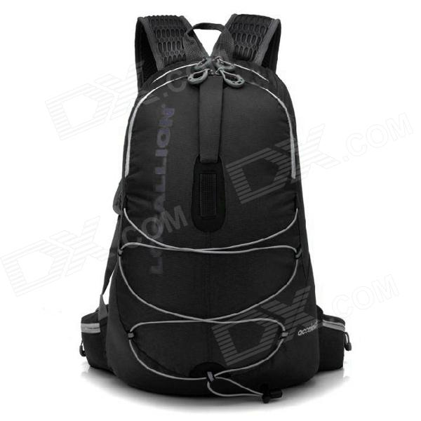 Locallion WH023 Outdoor Multifunction Backpack Bag - Black (25L) locallion h 012 outdoor sports multifunction nylon backpack bag army green