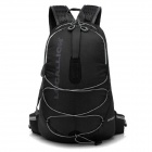 Locallion Outdoor Multifunction Backpack Bag - Black (25L)