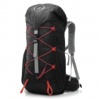 LOCAL LION Outdoor Nylon Backpack Shoulder Bag - Black (35L)