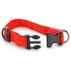 LED Flashing Night Safety Collar for Pet Dog / Cat - Red