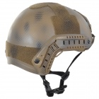 SW5888 Protective ABS Tactical Cycling / Wild Gaming Helmet - Camouflage Brown + Black
