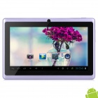 "MID-756 7"" android 4.2 Tablet PC w / 512MB RAM / 4GB ROM - violetti + musta"